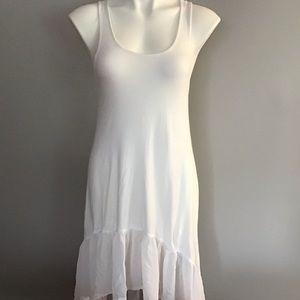 ASOS White Hi Lo Dress Size 4